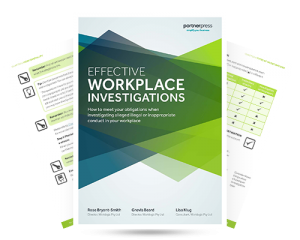 Effective Workplace Investigations e-book by Worklogic