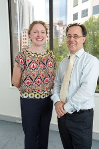 Worklogic co-founders, Rose Bryant-Smith and Grevis Beard