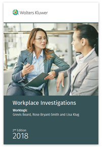 Workplace Investigations book by Worklogic