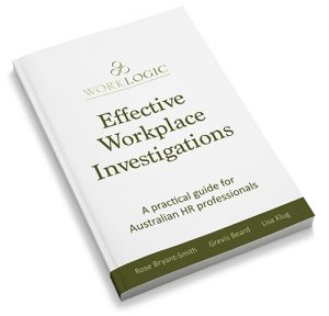 Effective Workplace Investigations Book